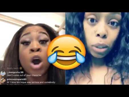 """'Flavor Of Love' Bootz Calls Out Buckeey On IG Live .. """"Nobody Scared Of You!""""  😧"""