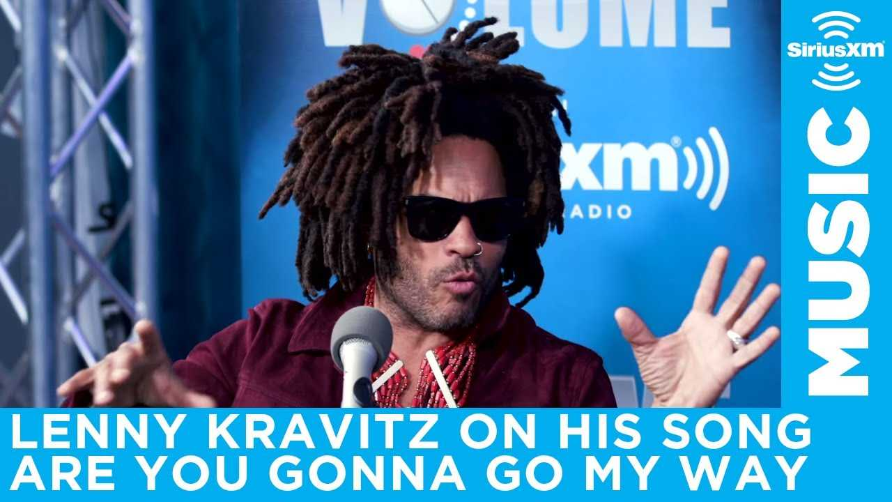 Lenny Kravitz talks Are You Gonna Go My Way and writing his greatest hits