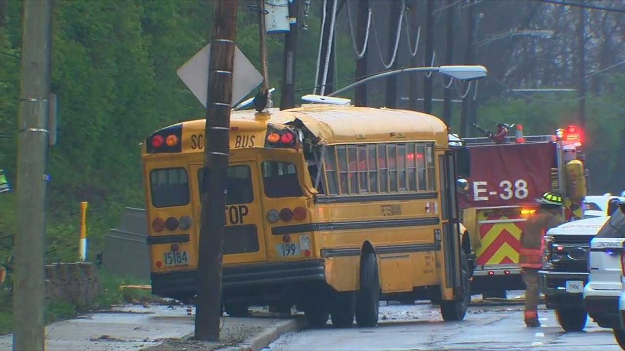Ohio School Bus Crash Sends Children to Hospital