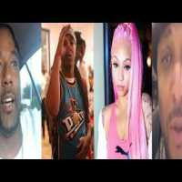 Tadoe Admits To Cuban Doll Situation? + Rappers 40 Glocc And Bleu Davinci React