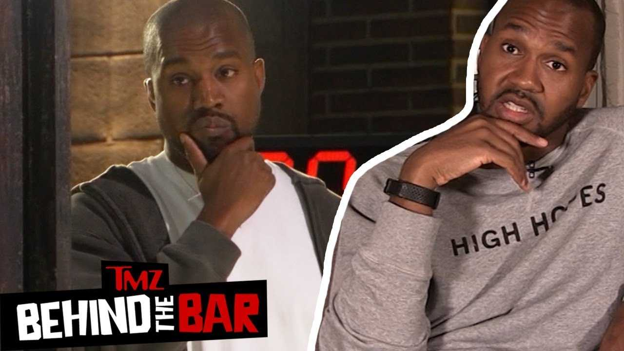 Van Lathan Discusses Why He Thinks Kanye Went Off The Rails | Behind The Bar