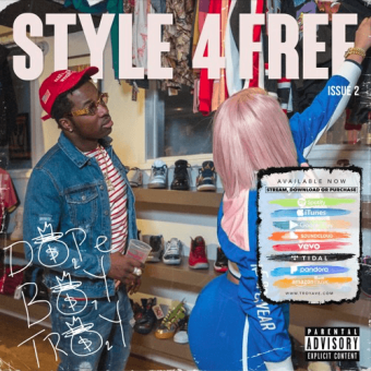 """Troy Ave   """"Style 4 Free"""" (Part 2) [Mixtape]"""