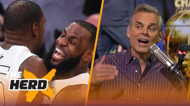 Colin Cowherd on why LeBron to Lakers transcends sports, KD's move to Warriors | NBA | THE HERD