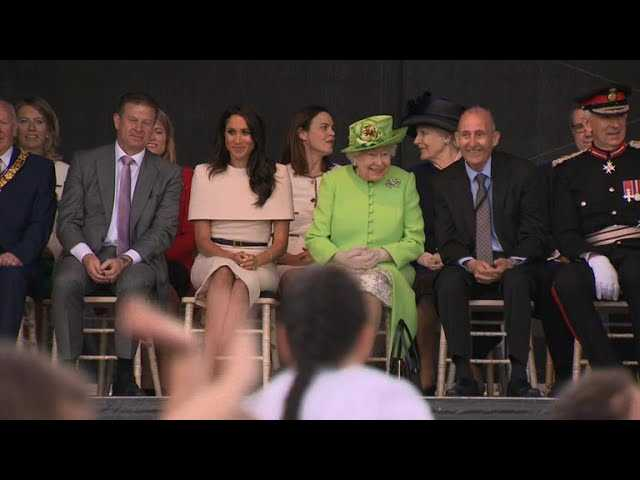 Meghan Markle makes first royal trip without Prince Harry