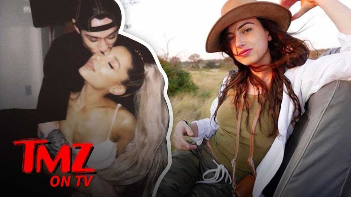 Pete Davidson and Cazzie David Were 'On a break' | TMZ TV