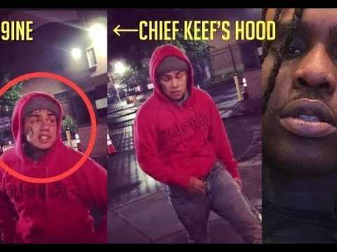 6ix9ine EXPOSED by Security Footage for Pulling up to Chief Keef Hood O Block at 3AM instead of 10PM