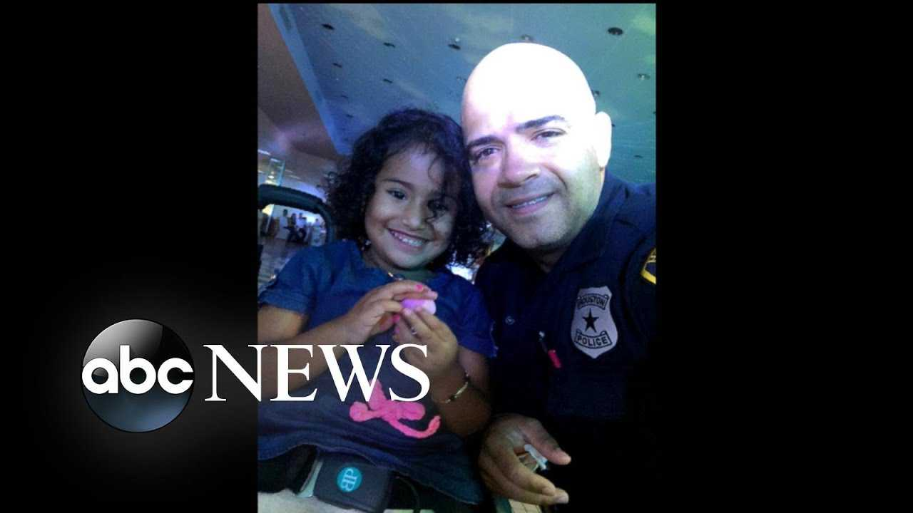 A Houston police officer asked a 5-year-old girl in a wheelchair to dance.