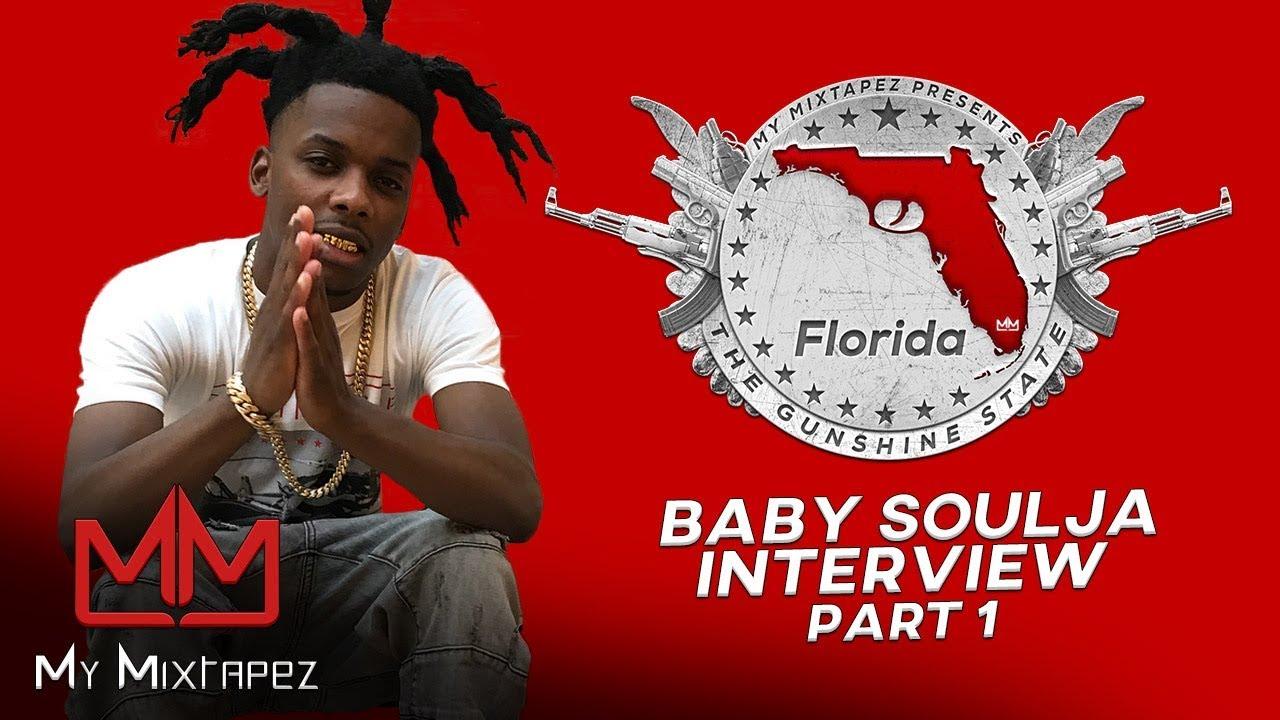 "Baby Soulja - I was surprised Boosie Badazz jumped on my single ""Dirty"" [Part 1]"