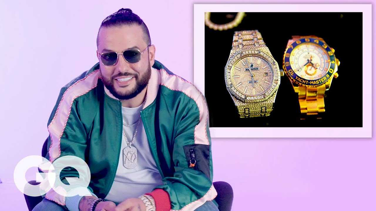 Belly Shows Off His Insane Jewelry Collection | On the Rocks | GQ