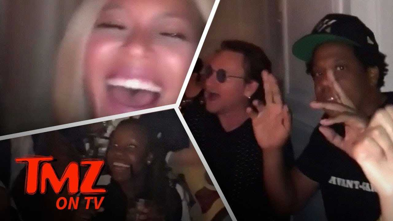 Beyonce & Jay-Z Dinner Sing-Along With Someone Very Famous | TMZ TV
