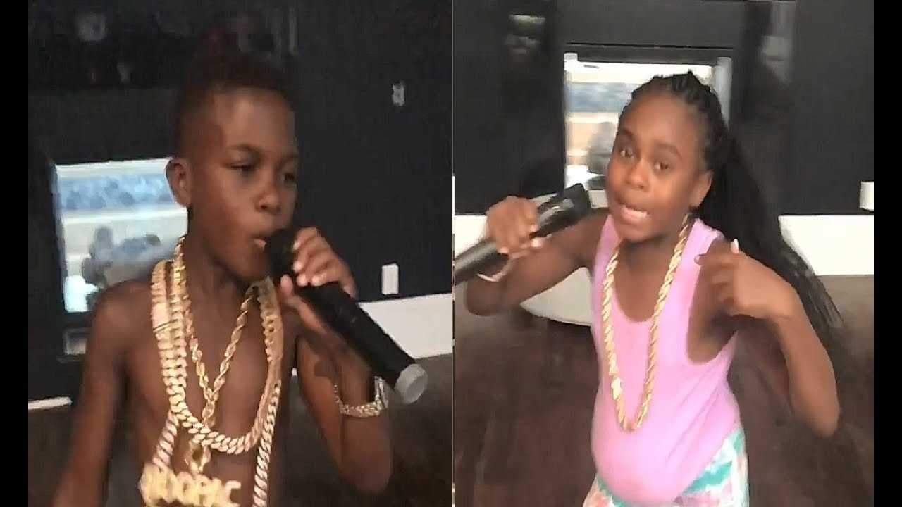 Boosie Introduces His Kids As They Hit The Stage At Trap Karaoke