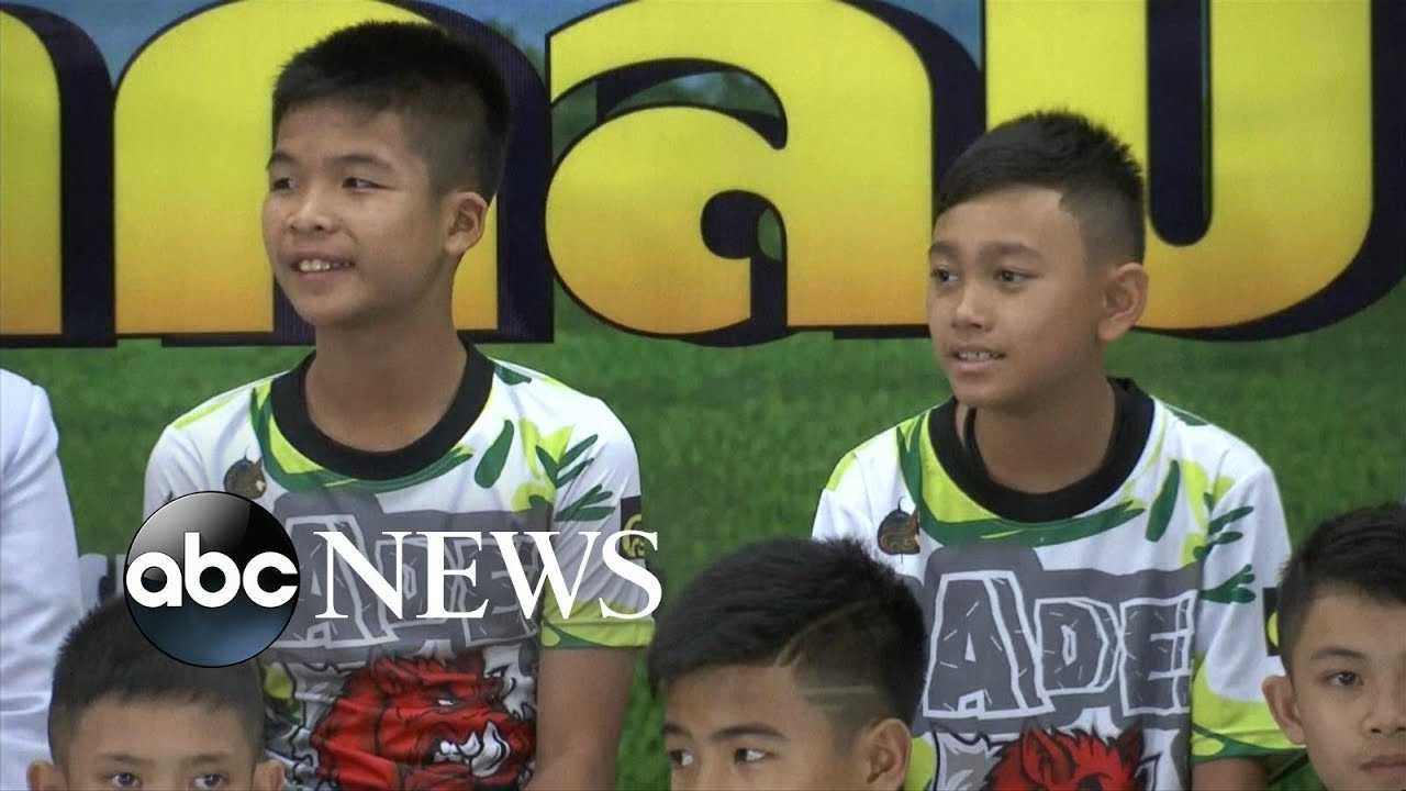 Boys rescued from Thai cave speak out for 1st time