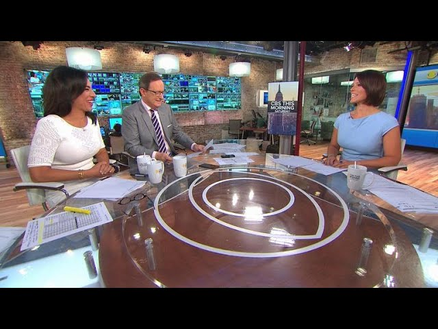"""""""CBS This Morning: Saturday"""" welcomes new co-hosts Michelle Miller and Dana Jacobson"""