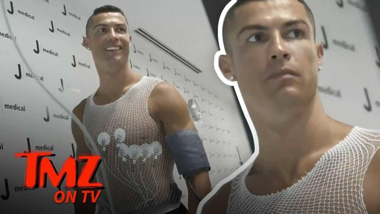 Cristiano Ronaldo Takes A VERY Expensive Physical   TMZ TV