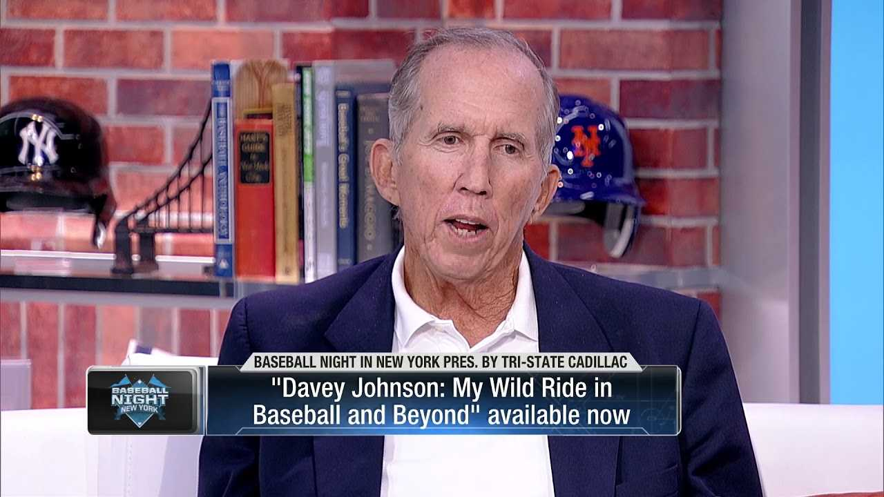 """Davey Johnson on managing today: """"I wouldn't have lasted a month.'"""""""