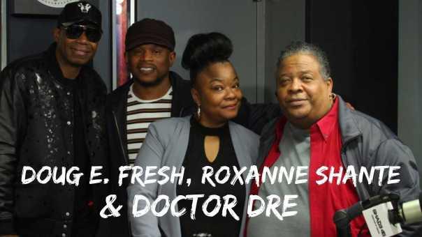 Doug E. Fresh, Roxanne Shanté and Doctor Dre Talk Yo! MTV Raps 30 Year Anniversary Concert