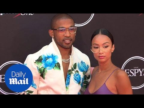 Draya Michele looks sexy and sophisticated on ESPYS red carpet - Daily Mail