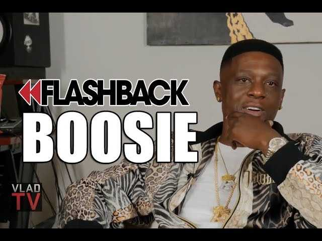 Flashback: Boosie: All My Sons Have Boosie Fades, They Don't Have a Choice