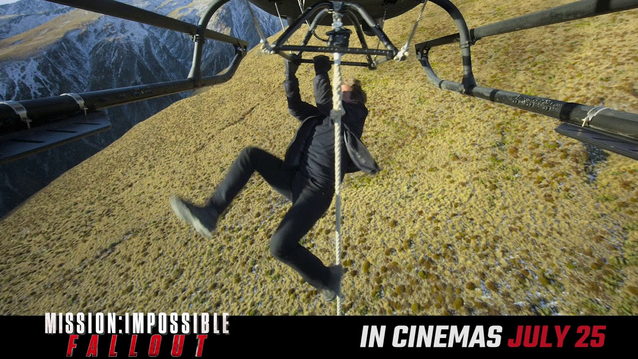 Get tickets to see the best Mission yet! #MissionImpossible