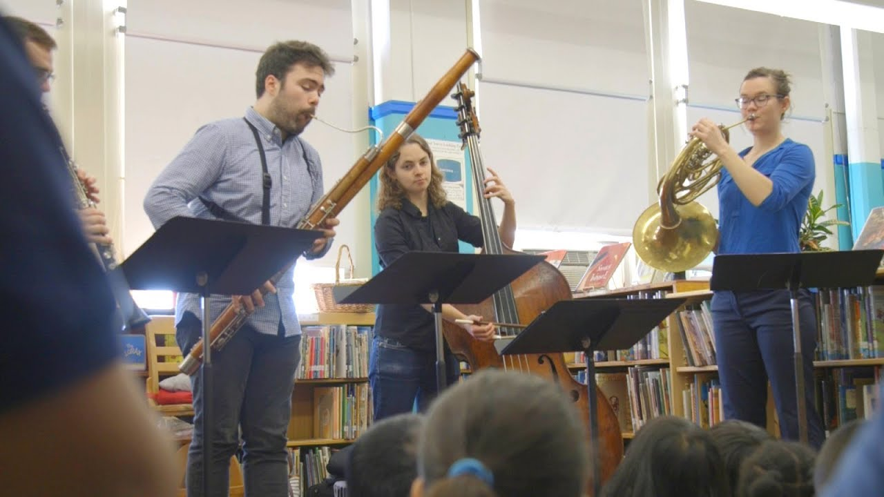 How Carnegie Hall Musicians make an impact on NY students