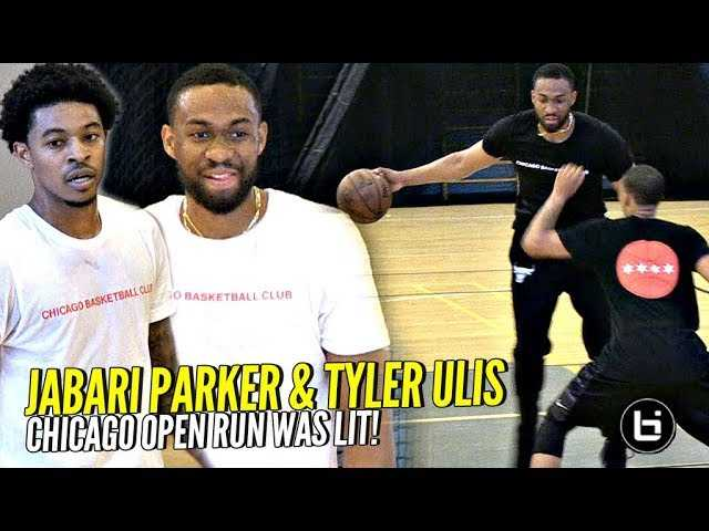 Jabari Parker & Tyler Ulis COOKING In Chicago Open Runs! NBA Pros Make It Look EASY! Full Highlights