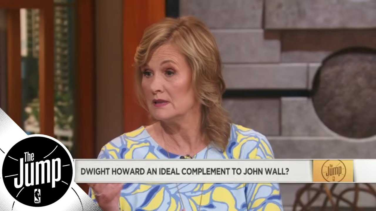 Jackie MacMullan: If Dwight Howard can 'submerge his ego' he'll be good on Wizards | The Jump | ESPN