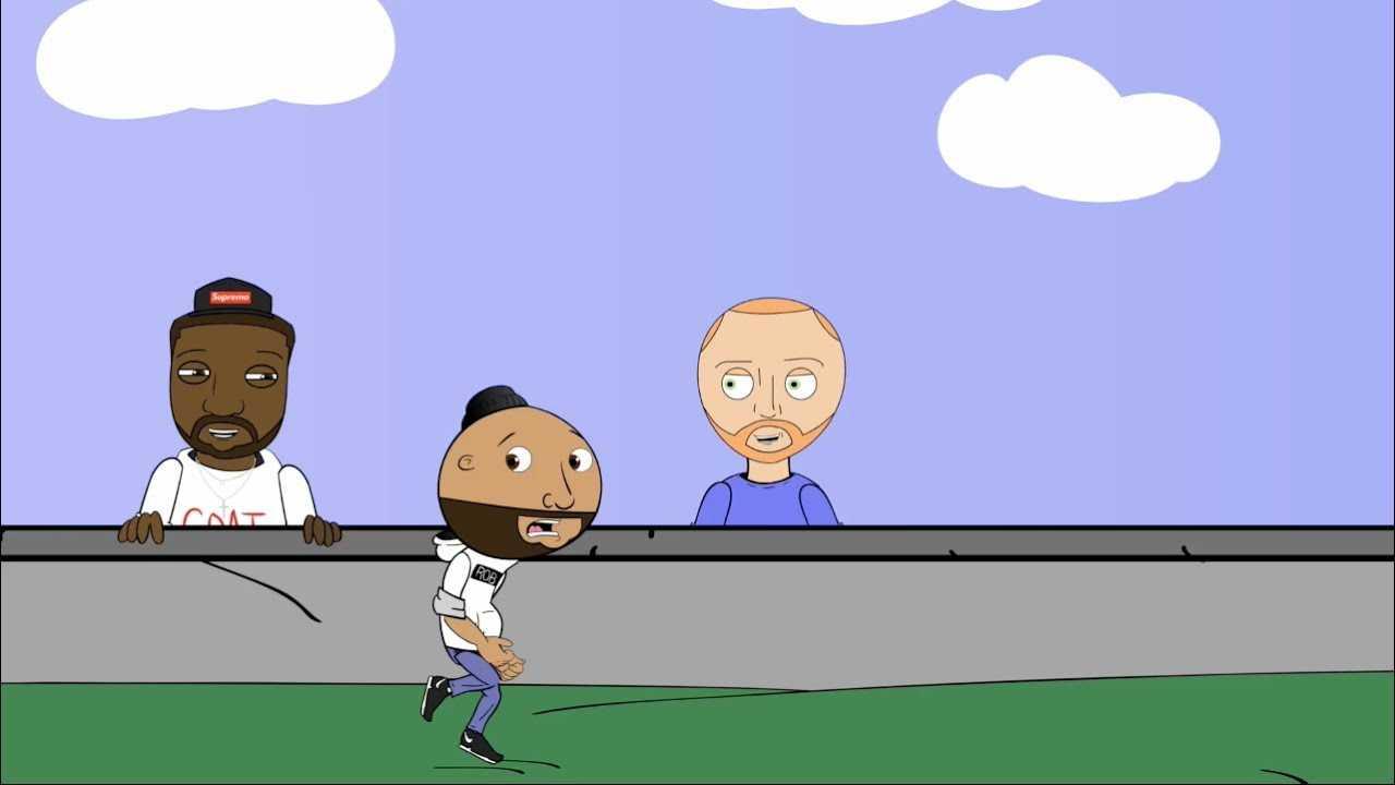 Joe vs 2 Pitbulls | The Joe Budden Podcast Cartoon