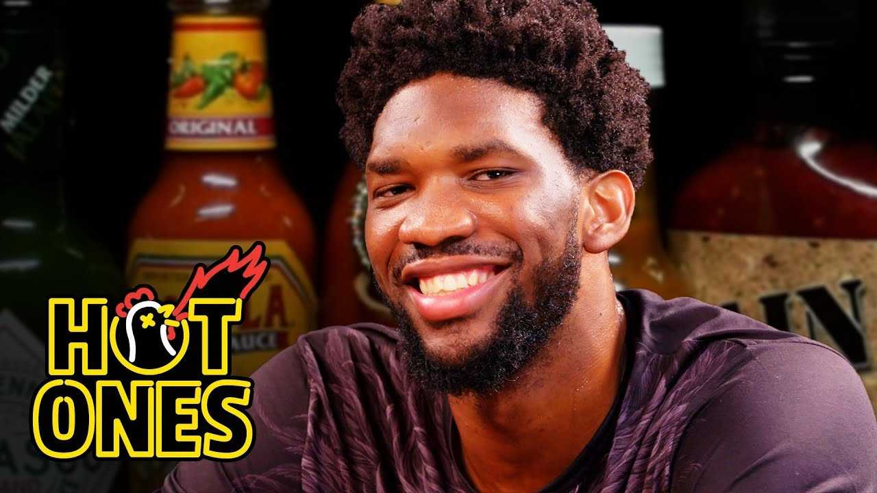 Joel Embiid Trusts the Process While Eating Spicy Wings | Hot Ones