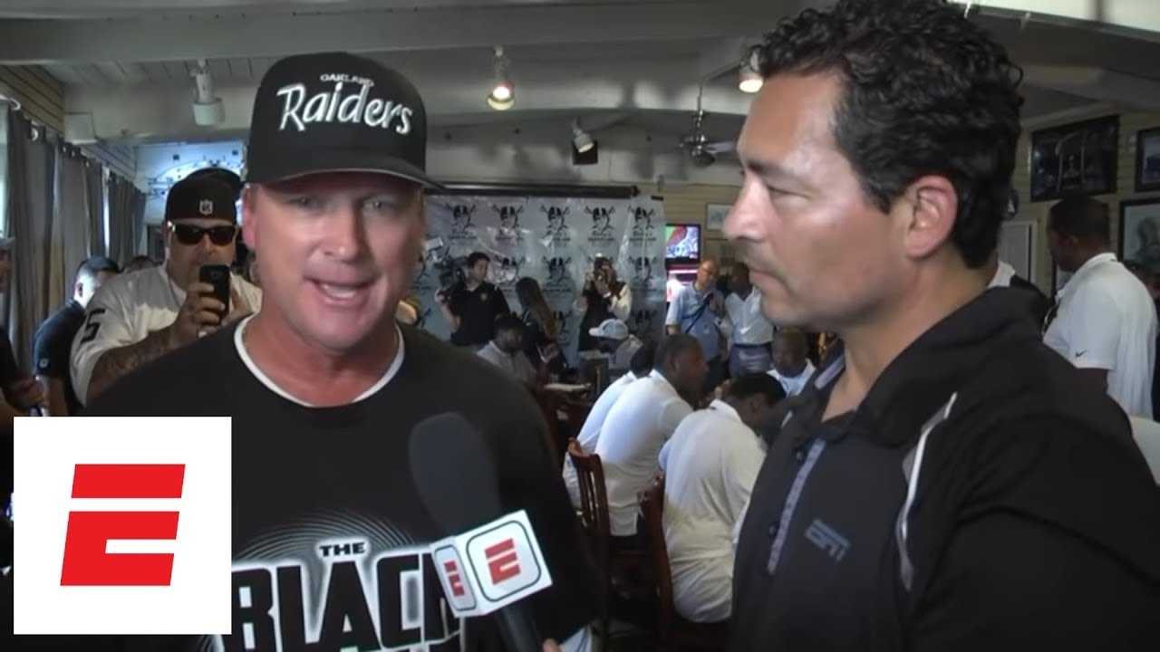 Jon Gruden exclusive interview: Fans a big reason I came back to Oakland Raiders | ESPN