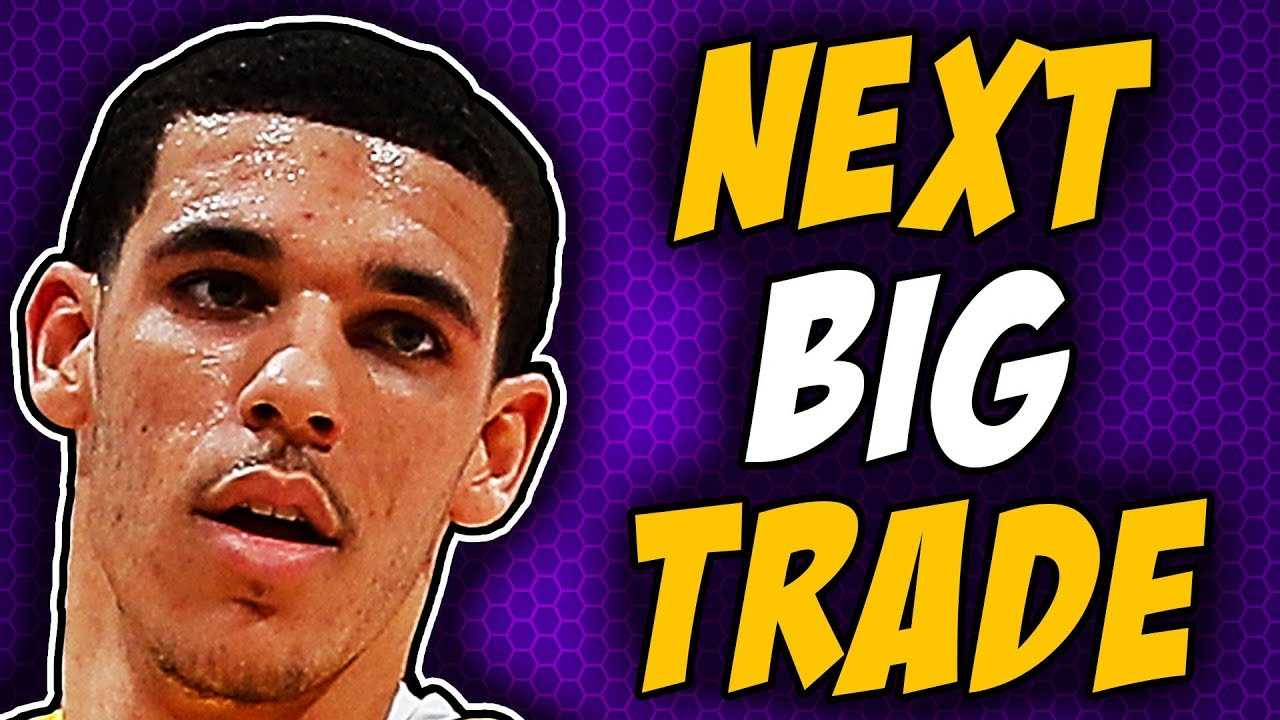 Lakers Working On Trading Lonzo Ball