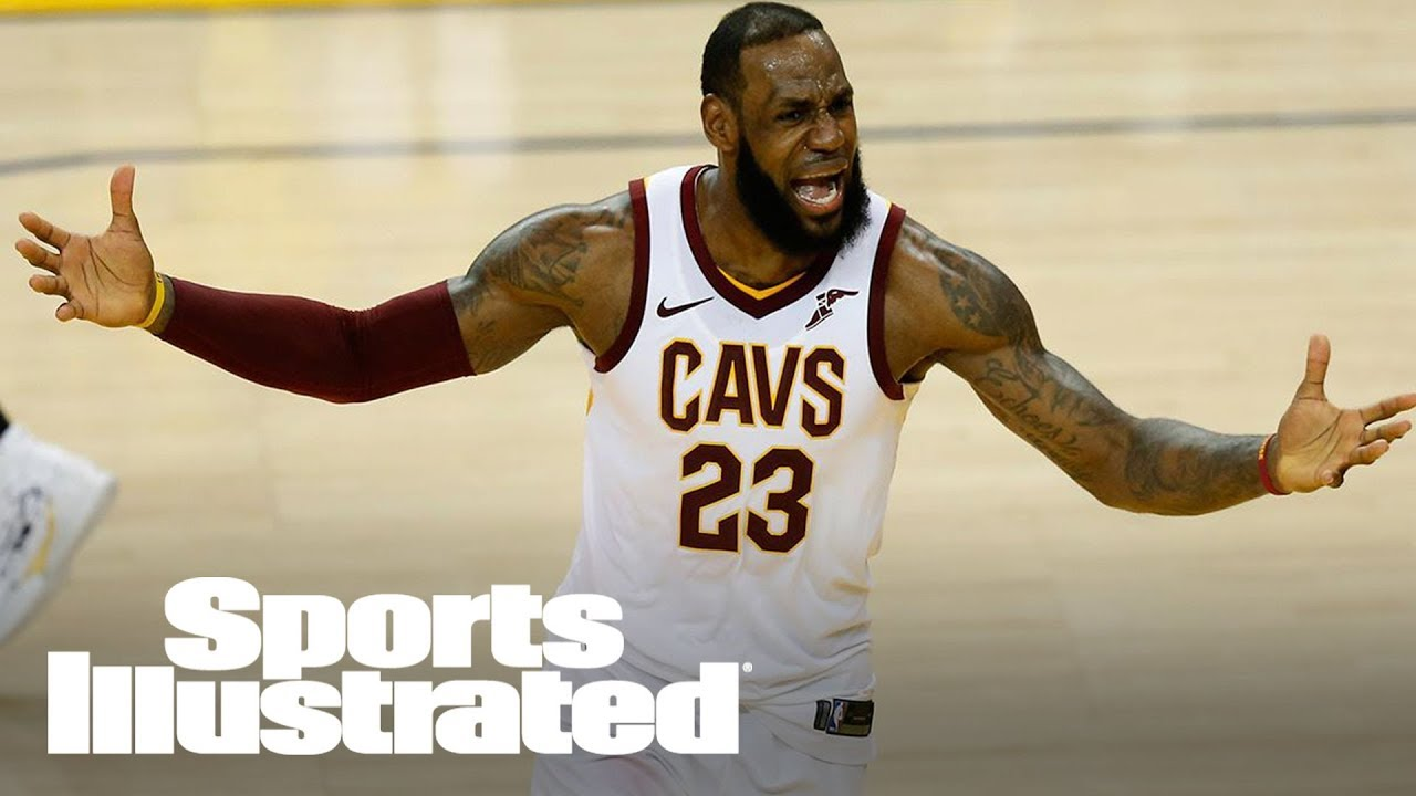 LeBron James Can't Be Blamed For Game 1 Reaction | SI NOW | Sports Illustrated
