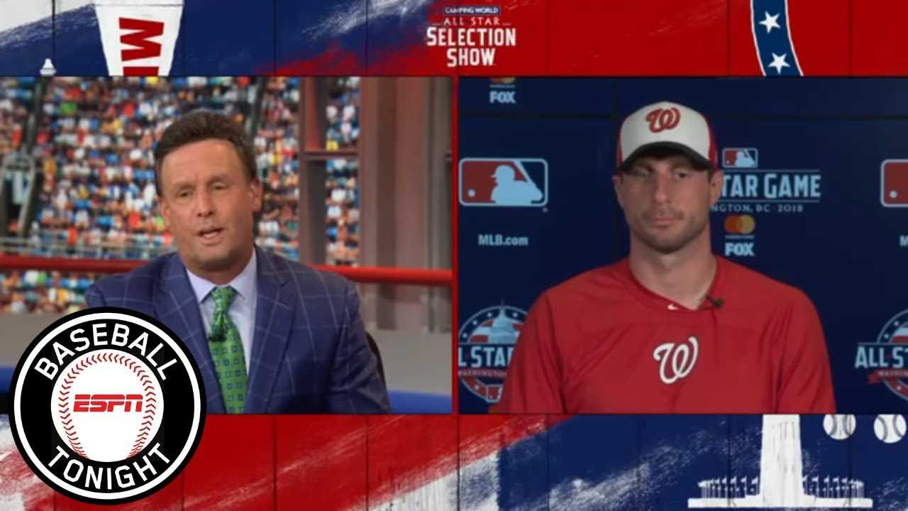 Max Scherzer: Starting the 2018 All-Star Game would be 'unbelievable' | Baseball Tonight | ESPN