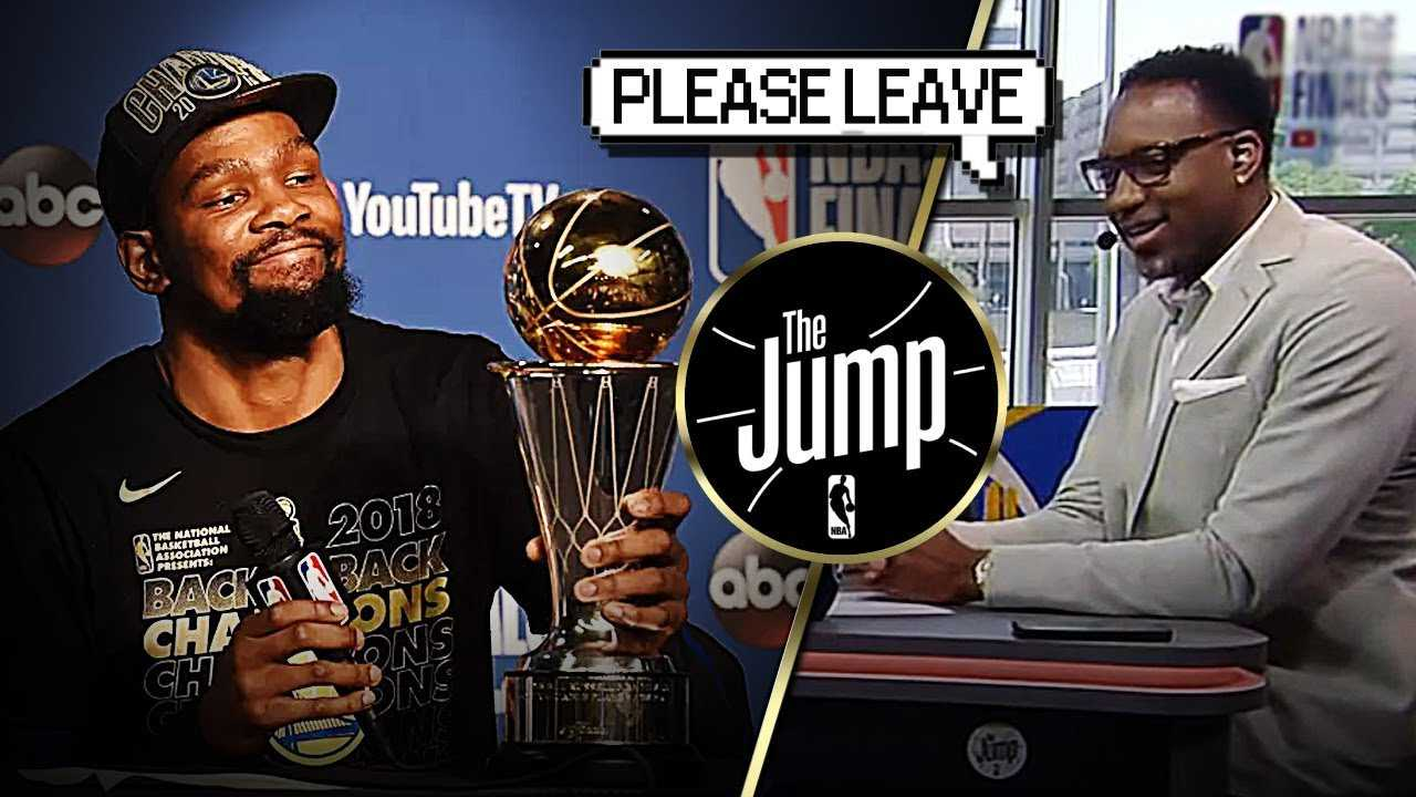 """McGrady On Kevin Durant Resigning With Warriors: """"Please leave Golden State!"""" 