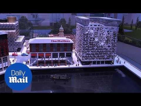 New Legoland attraction recreates Birmingham landmarks - Daily Mail
