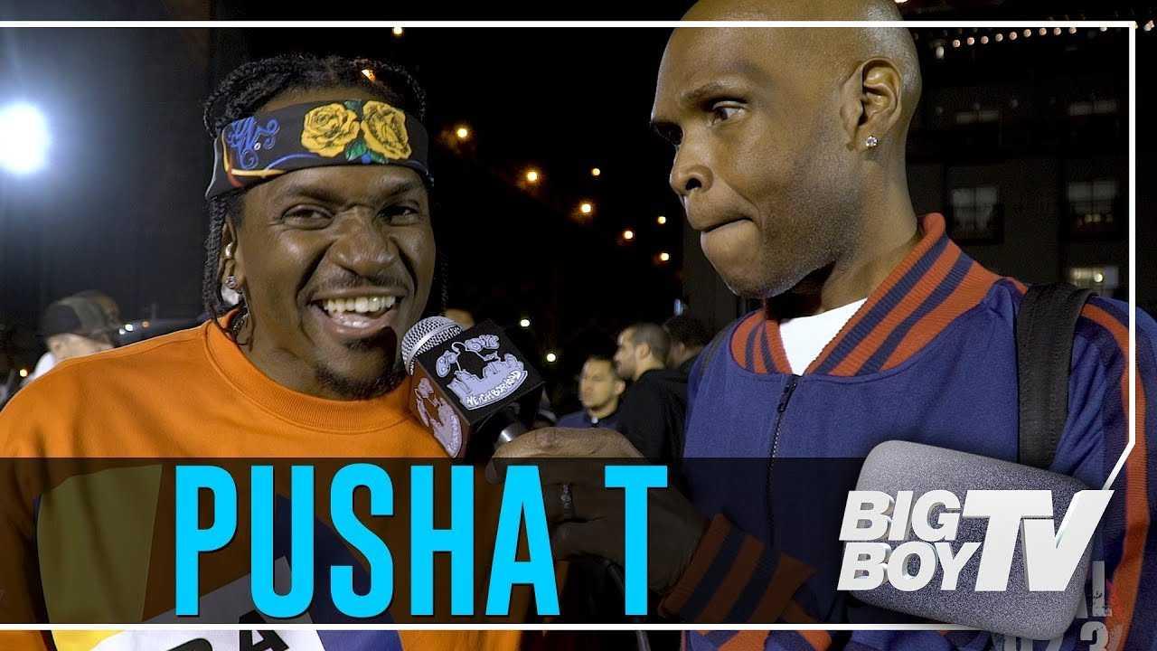 Pusha T Celebrates Nas' Album, Ends Beef w/ Drake & It's Back to Work!
