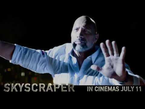 Risking it all to save his family. #SkyscraperMovie
