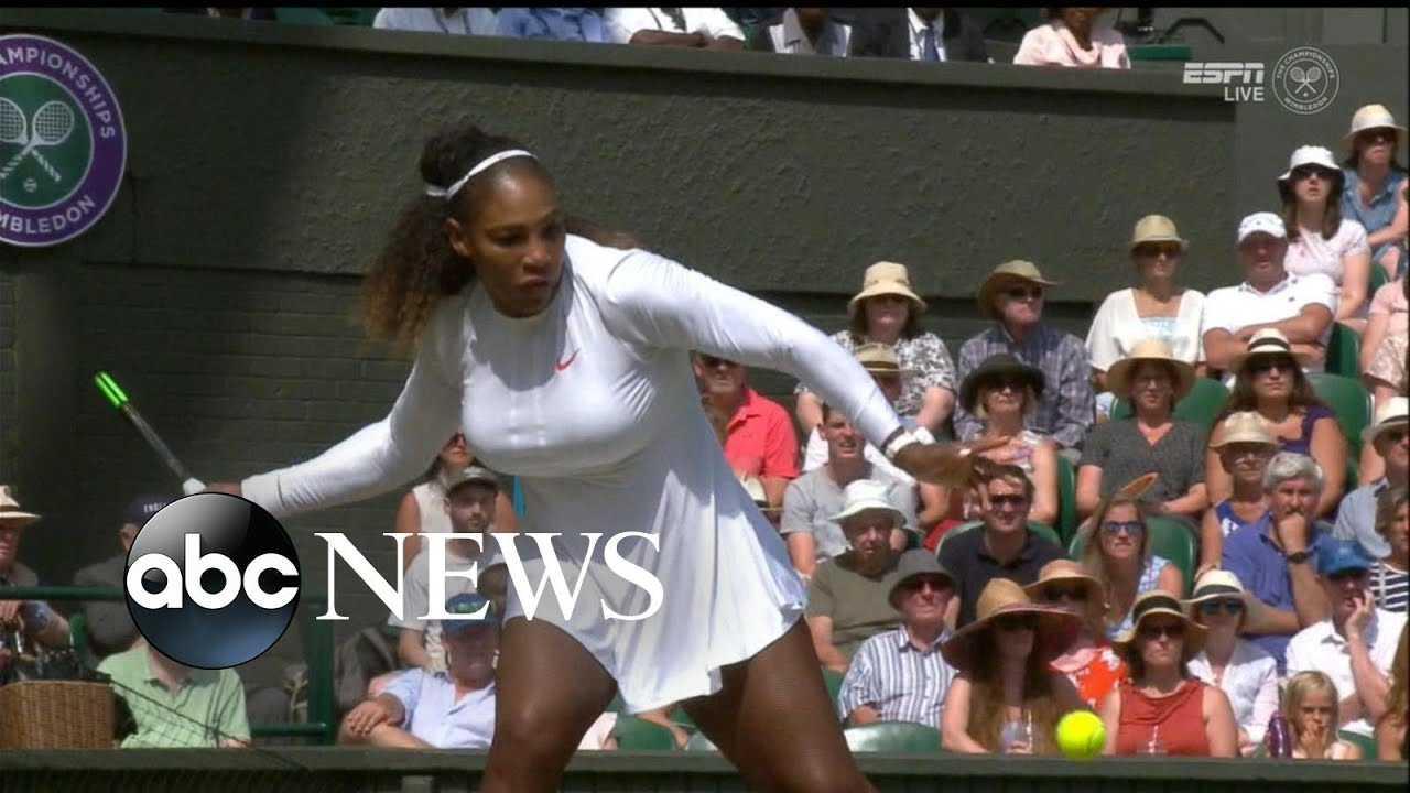 Serena Williams returns to Wimbledon
