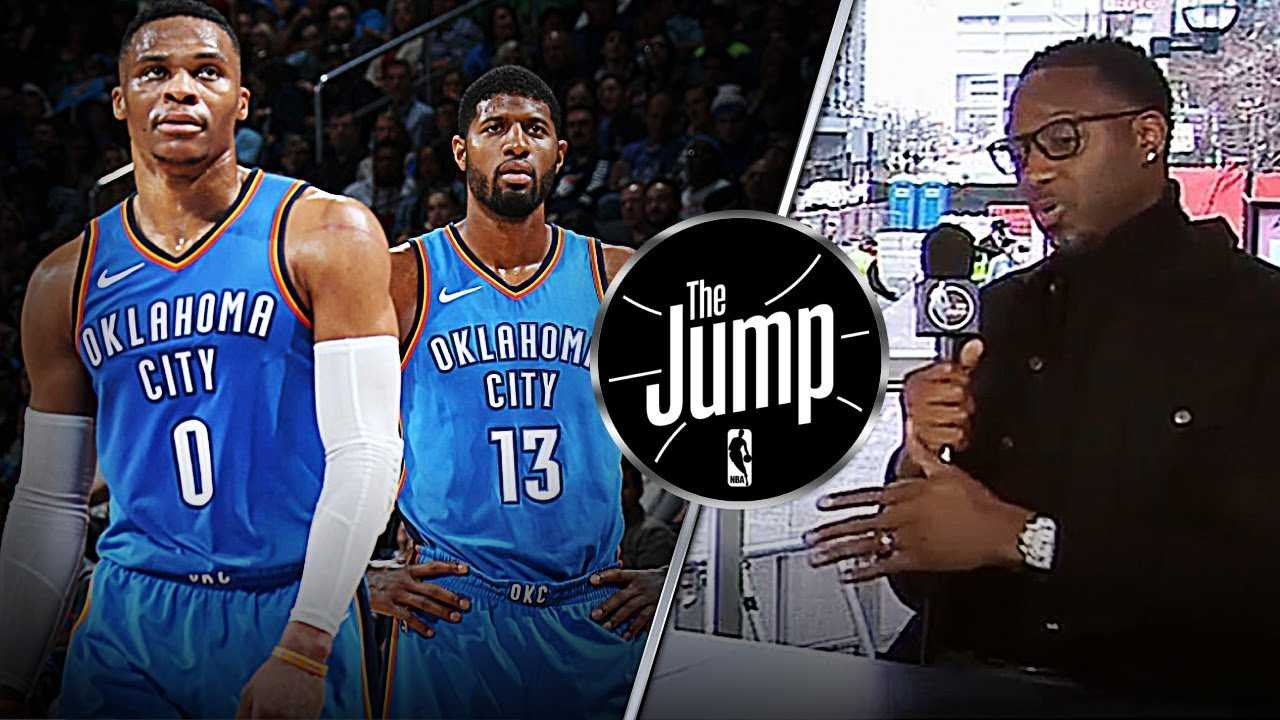 T-Mac Thinks Russell Westbrook & Paul George Duo Not Working | The Jump