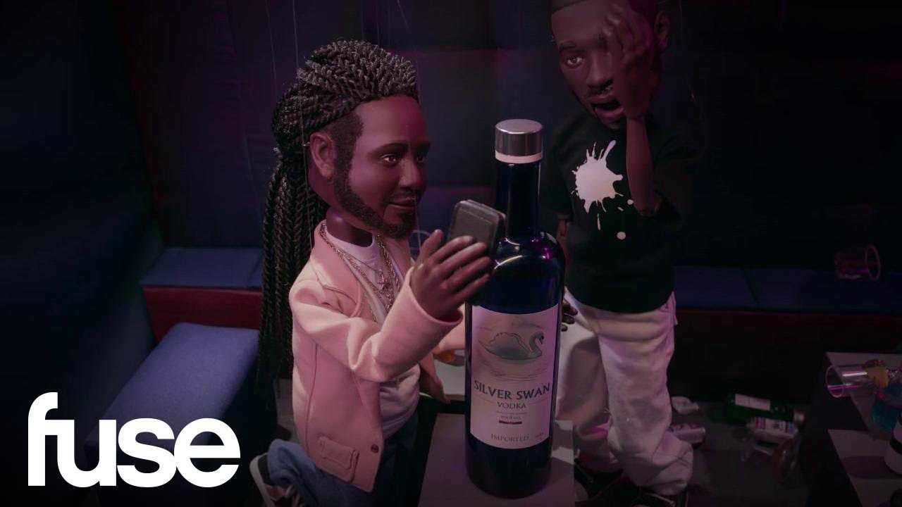 T-Pain's Wild Night In London   The Hollywood Puppet Show