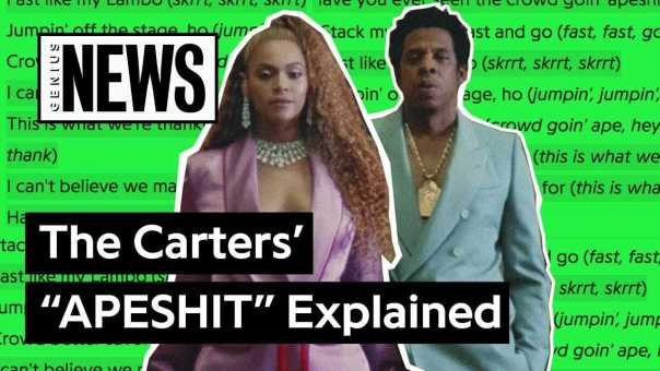 """The Carters' (Beyoncé & JAY-Z's) """"APESHIT"""" Explained 