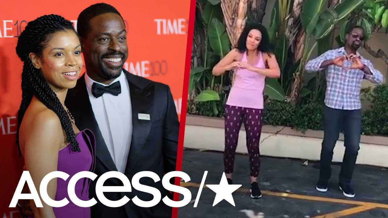 'This Is Us' Stars Sterling K. Brown & Susan Kelechi Watson 'Do The Shiggy' On First Day Back To Set