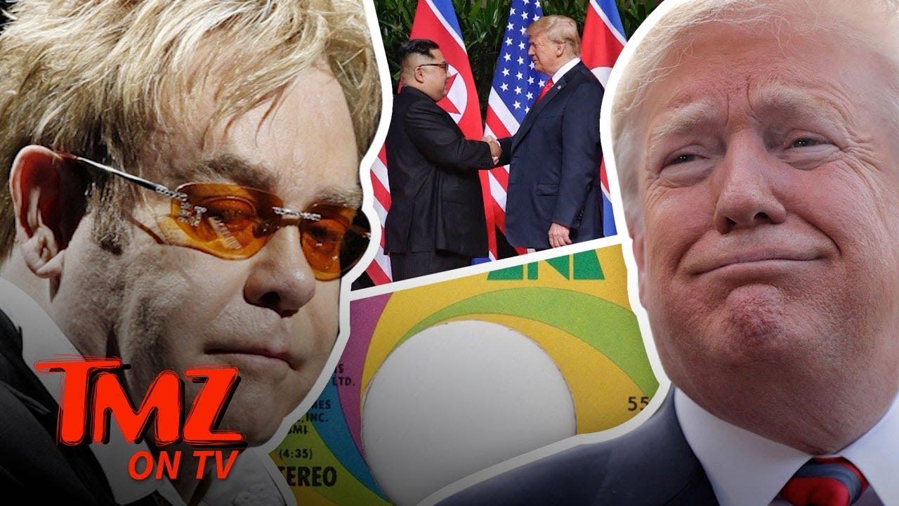 Trump Sending Kim Jung un An Elton John CD?! | TMZ TV