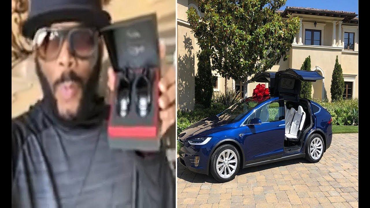 Tyler Perry Buys Tiffany Haddish A Tesla
