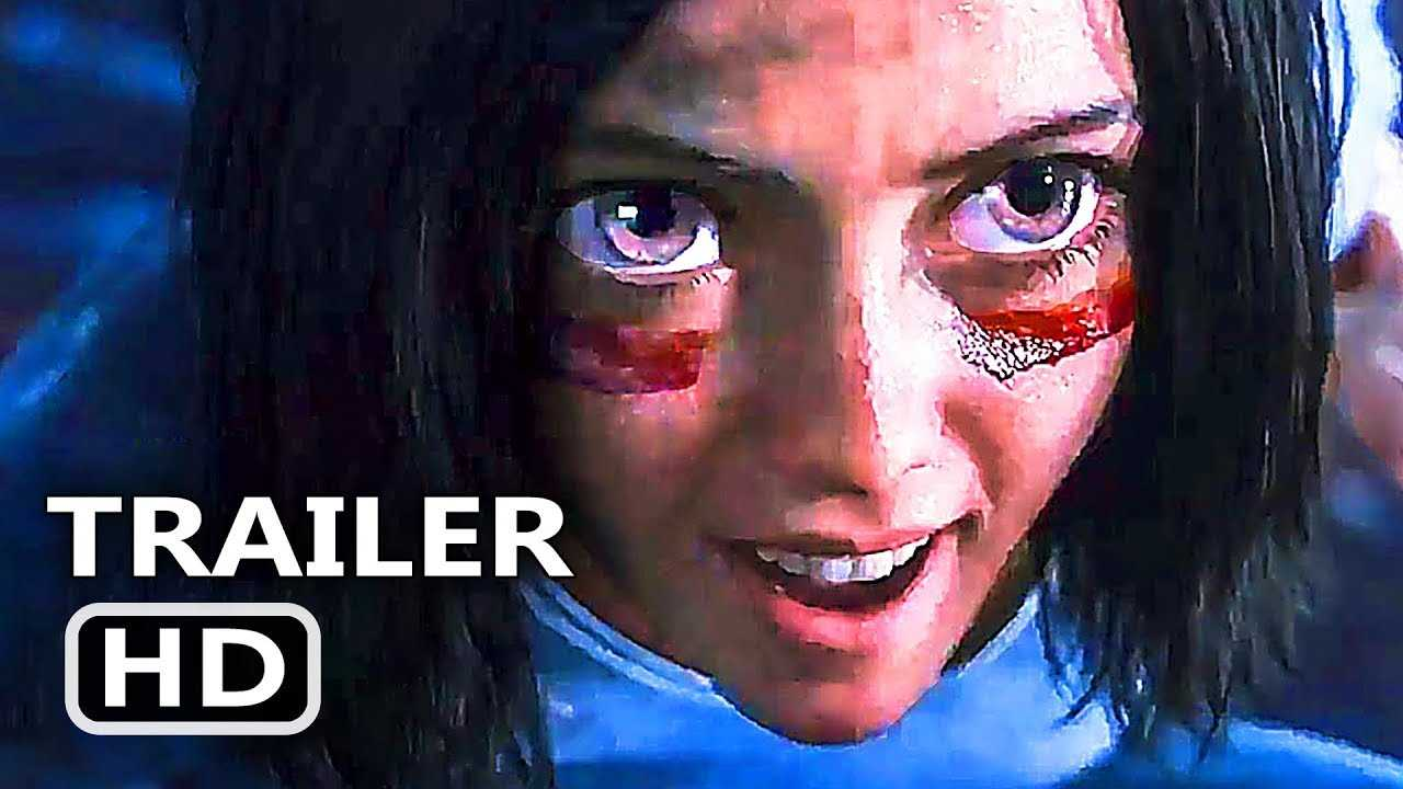 ALITA BATTLE ANGEL Official Trailer # 2 (NEW, 2018) James Cameron Sci Fi Movie HD