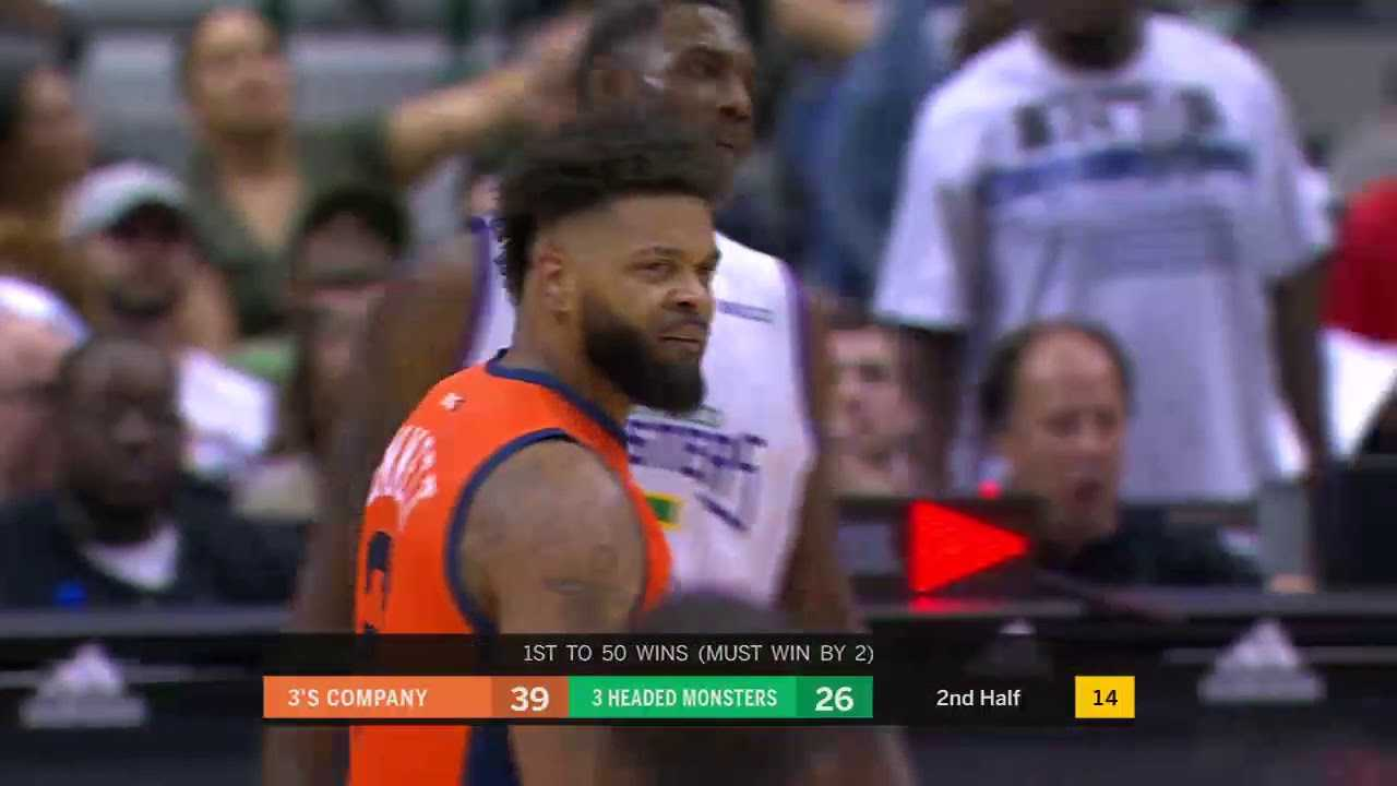 BIG3 Playoffs: 3's Company vs. 3 Headed Monsters