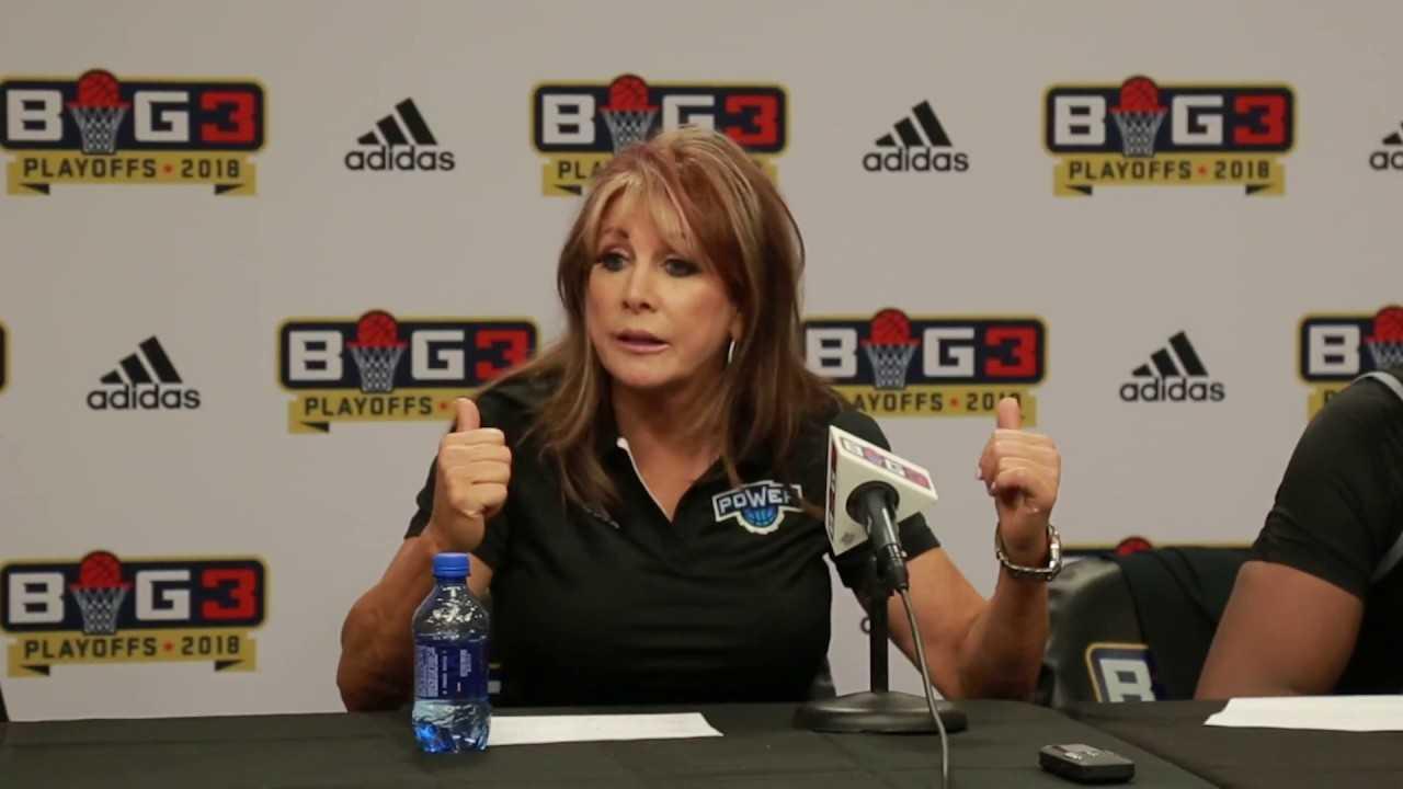 BIG3 Playoffs: Power Postgame Interview