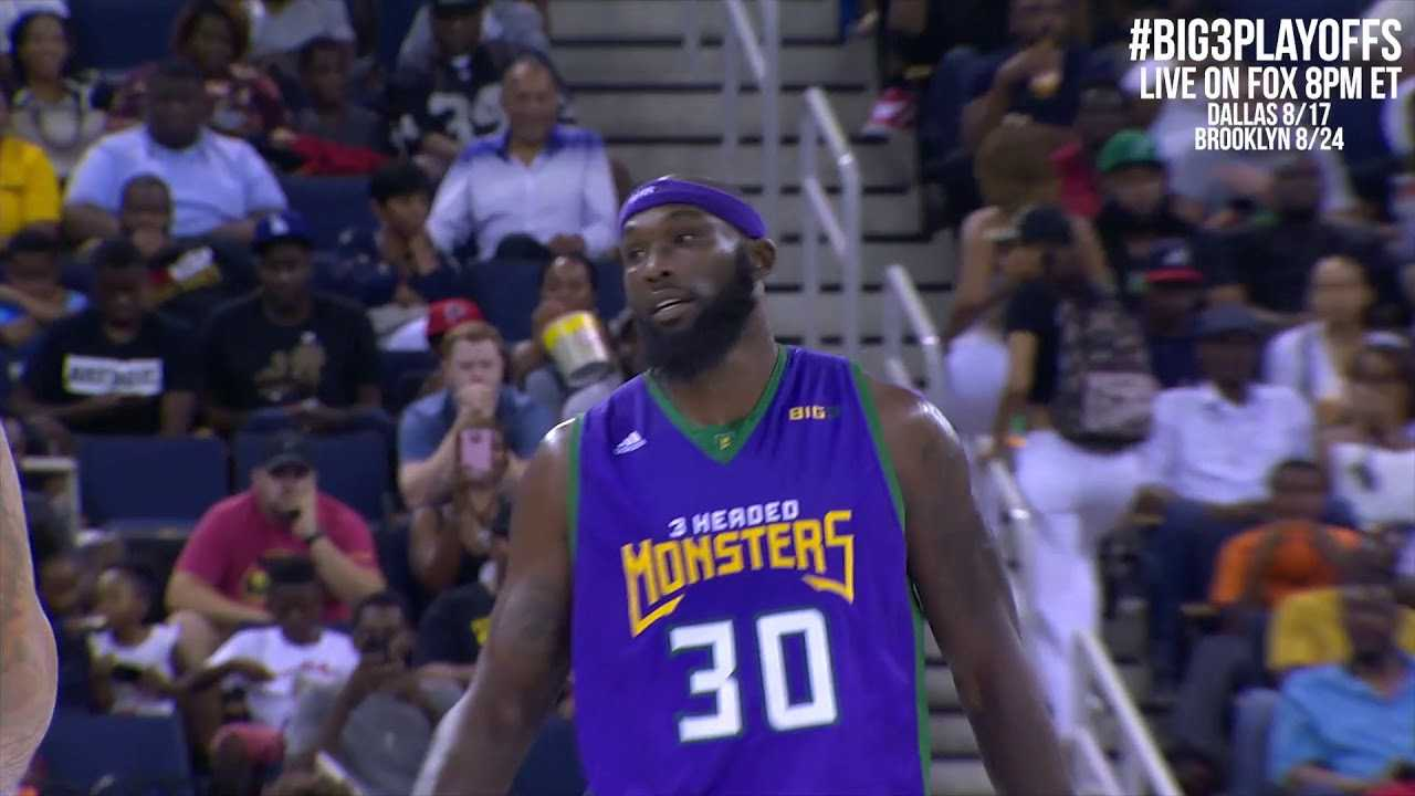 BIG3 Season 2: The Best of Reggie Evans