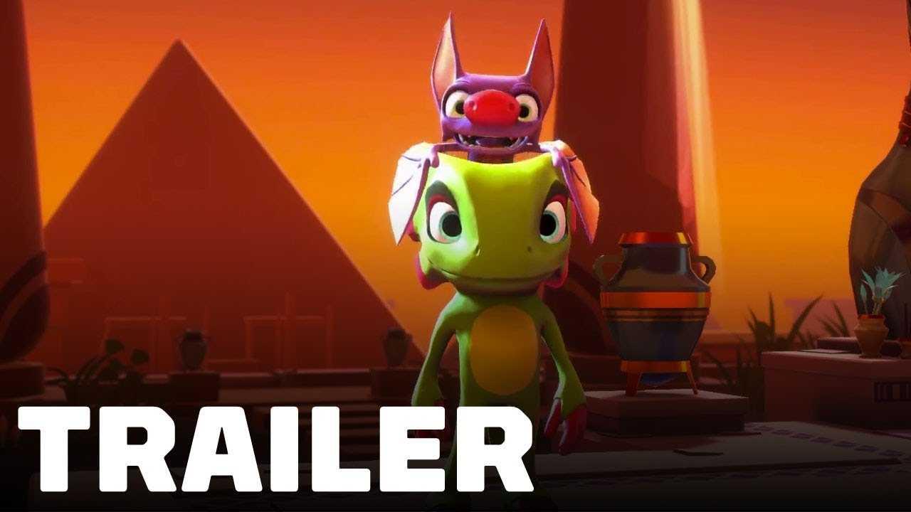 Brawlout: Yooka-Laylee Reveal Trailer - Gamescom 2018