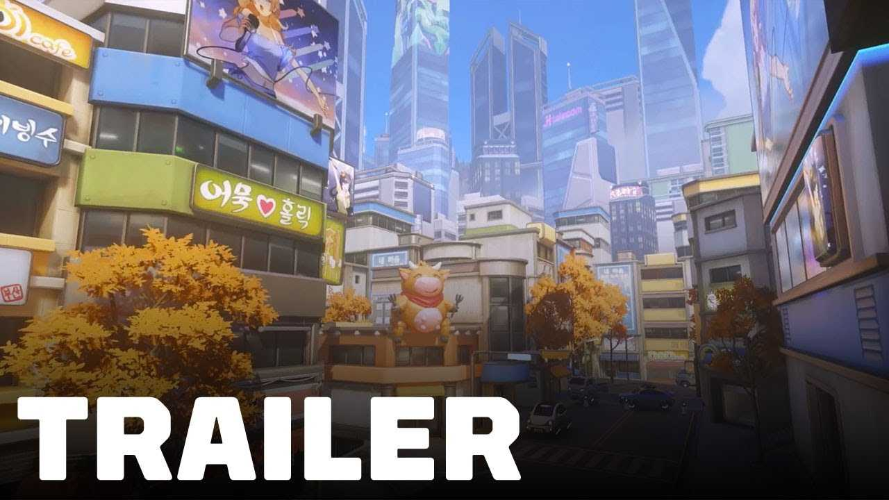 Busan New Overwatch Control Map Trailer