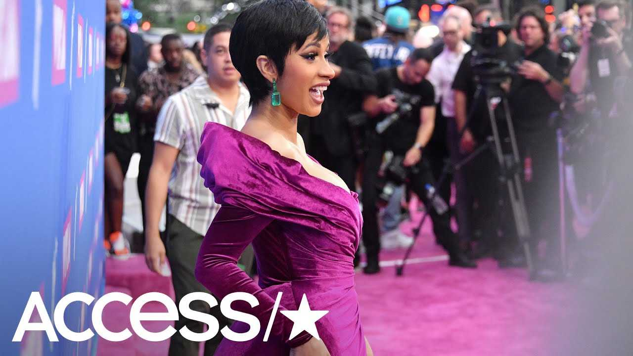 Cardi B Shows Off Post-Baby Bod At The MTV VMAs Two Months After Giving Birth